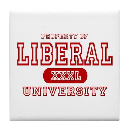 Liberal University Tile Coaster