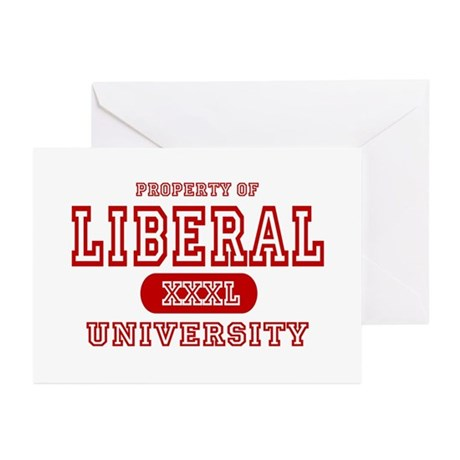 Liberal University Greeting Cards (Pk of 10)