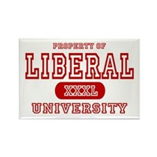 Liberal University Rectangle Magnet