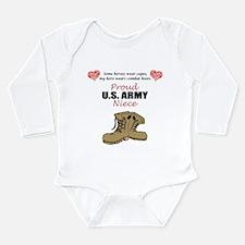 Proud US Army Niece Body Suit