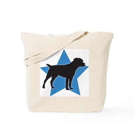 Patterdale Terrier Tote Bag
