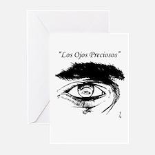 """""""Los Ojos Preciosos"""" Greeting Cards (Pk of 10)"""