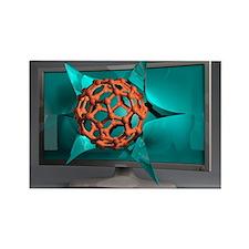 h, conceptual image - Rectangle Magnet (100 pk)