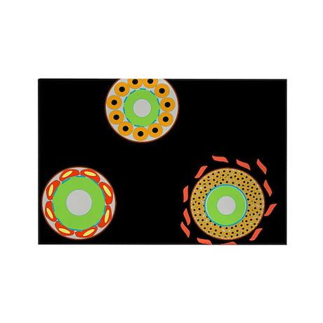 ation, artwork - Rectangle Magnet (100 pk)