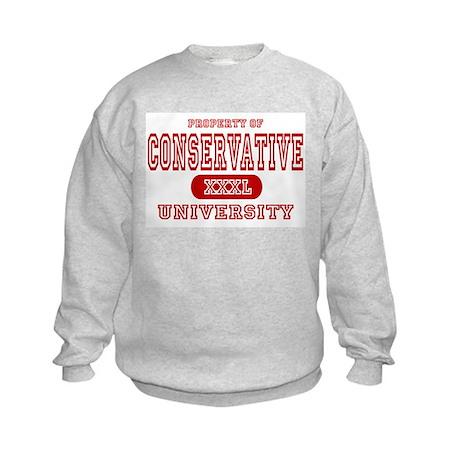 Conservative University Kids Sweatshirt