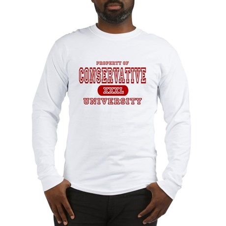 Conservative University Long Sleeve T-Shirt
