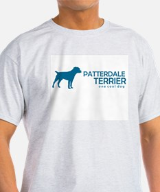 "Patterdale Terrier ""One Cool Ash Grey T-Shirt"
