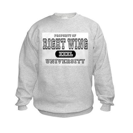 Right Wing University Kids Sweatshirt