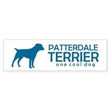 "Patterdale Terrier ""One Cool Bumper Bumper Sticker"