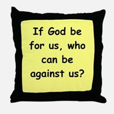 romans11 Throw Pillow