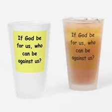 romans11 Drinking Glass