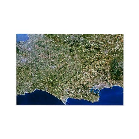 thwest England - Rectangle Magnet (100 pk)