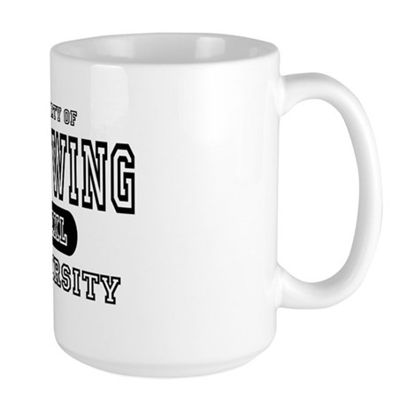 Left Wing University Large Mug