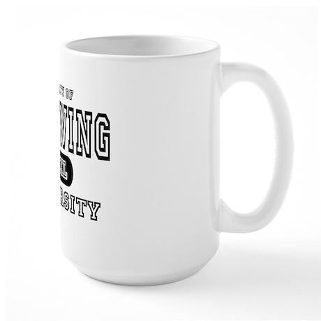 Left Wing University Large Mug