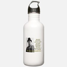 Without Tradition - Churchill Water Bottle