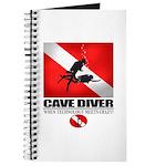 Cave Diver 2 (back) blk Journal