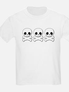 Skull & Cross Bones Kids T-Shirt