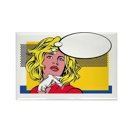 mage - Rectangle Magnet (100 pk)