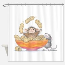 Nutty Juggler Shower Curtain