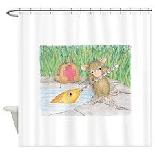 Somethin Fishy Shower Curtain