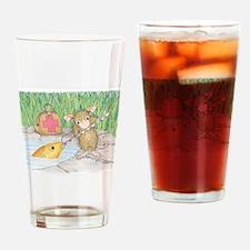 Somethin Fishy Drinking Glass