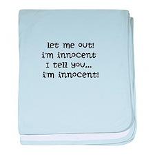 Im innocent baby blanket