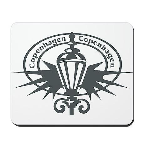 Copenhagen Passport Stamp Mousepad