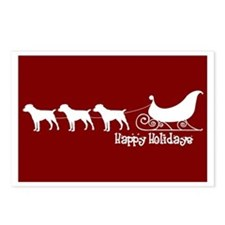 "Patterdale Terrier ""Sleigh"" Postcards (Package of"