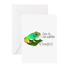 Funny Borinquen Greeting Cards (Pk of 10)