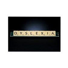 Dyslexia - Rectangle Magnet (100 pk)