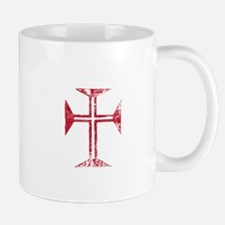 Pretty red christian cross 2 L z Mug