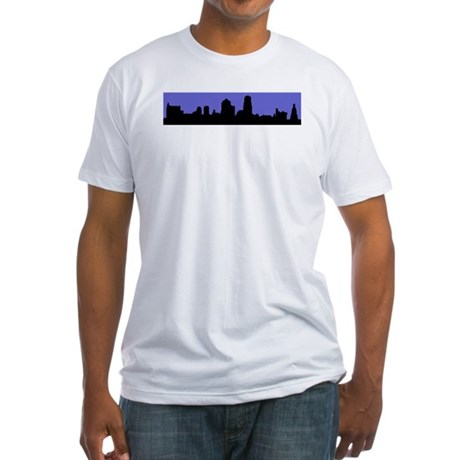 KC Skyline Fitted T-Shirt