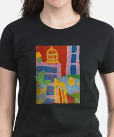 Yellow Chair and Birdcage T-Shirt