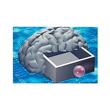 tual artwork - Rectangle Magnet (100 pk)