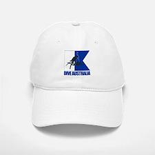 Dive Australia (blue) Baseball Baseball Baseball Cap