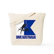 Dive Australia (blue) Tote Bag