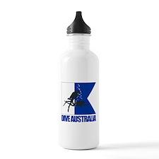 Dive Australia (blue) Water Bottle