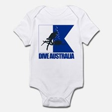 Dive Australia (blue) Body Suit
