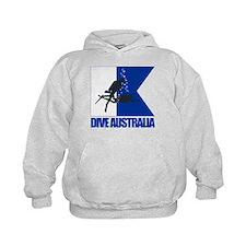 Dive Australia (blue) Hoodie