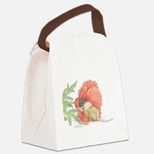 Poppy Cot Canvas Lunch Bag