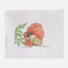 Poppy Cot Throw Blanket