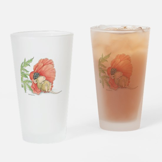Poppy Cot Drinking Glass