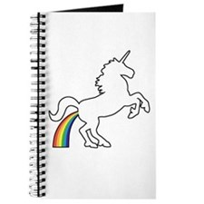 Unicorn Rainbow Poo Journal