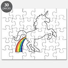 Unicorn Rainbow Poo Puzzle