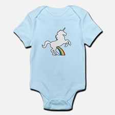 Unicorn Rainbow Wee Body Suit