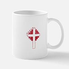 Pretty red christian cross 2 U Z Mug