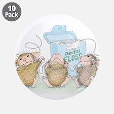 """Floss Boss 3.5"""" Button (10 pack)"""