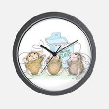 Floss Boss Wall Clock