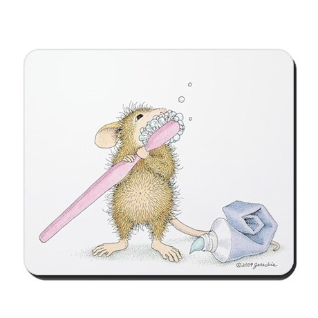 Tooth time Mousepad
