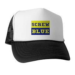 Screw Blue Trucker Hat